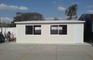 Aulas escolares prefabricadas mexico