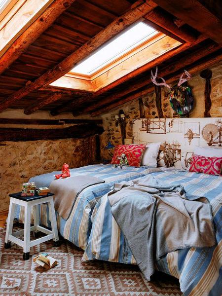 tipos de techos de madera