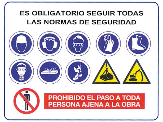 normas de seguridad en obras de construcción