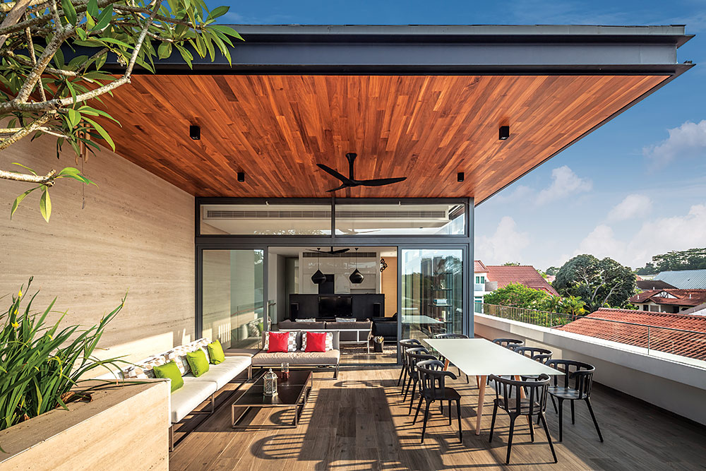 Dise os que har n de tu terraza un lugar de descanso y for Disenos para terrazas