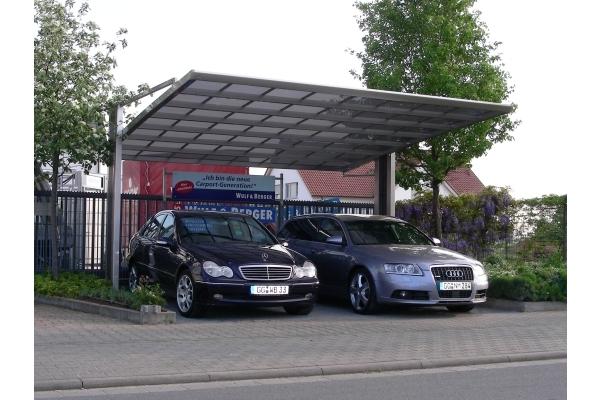 Tipos de techos para autos que lo proteger n en cualquier for Techos de policarbonato para exteriores