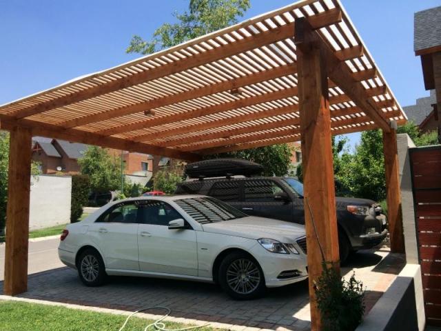 Tipos de techos para autos que lo proteger n en cualquier for Materiales para techos de madera