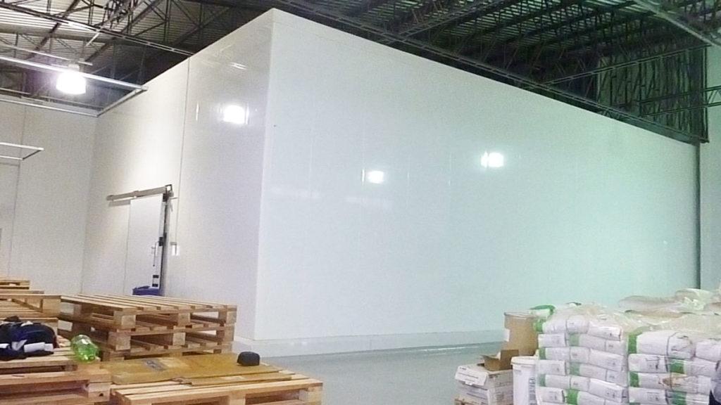 panel para cámaras frigoríficas