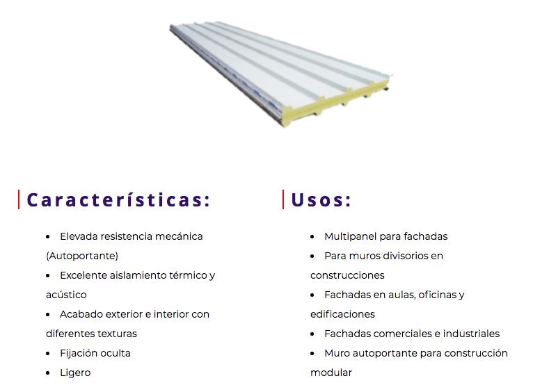 distribuidores de multipanel en mexico
