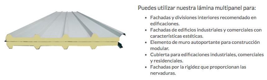 distribuidores de multipanel en mexico thermopanel