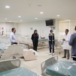 Adaptan hospitales para atención de Covid 19 en cdmx