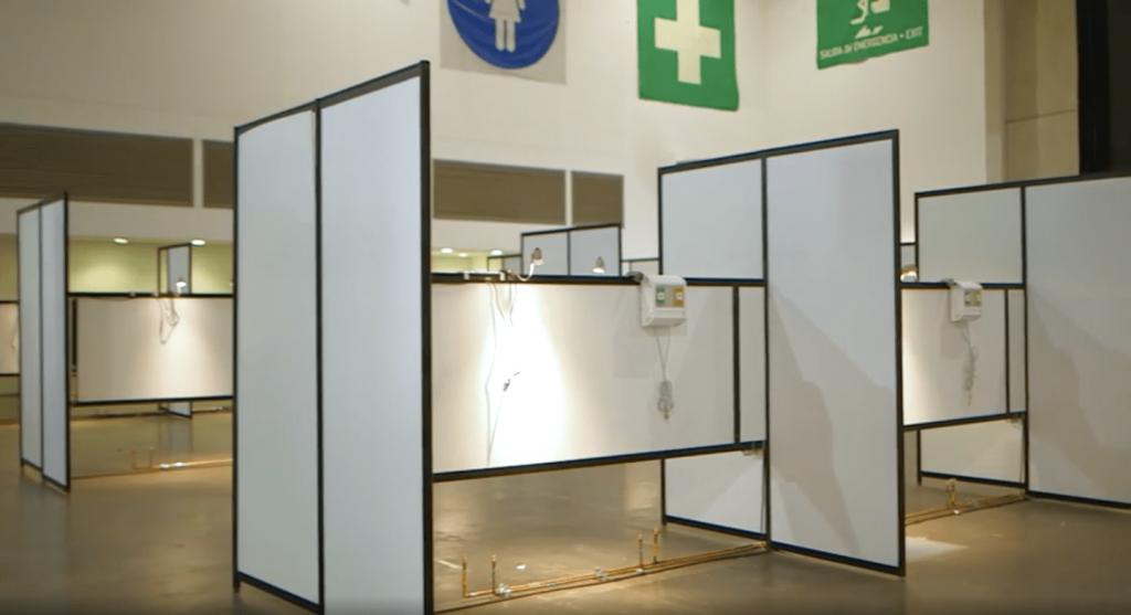 Centro Citibanamex es convertido en un hospital para recibir pacientes de Covid-19