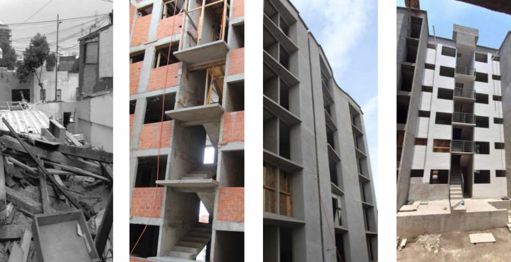 acciones del gobierno para reactivar la construcción en la CDMX