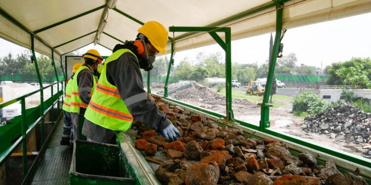 Plantas de Tratamiento y Aprovechamiento de Residuos de la Construcción